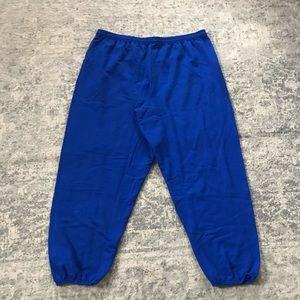 5/$25 Royal Blue Hanes ecosmart Sweatpants XXL